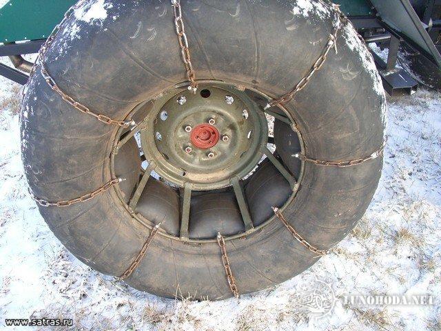 Как сделать вездеходное колесо