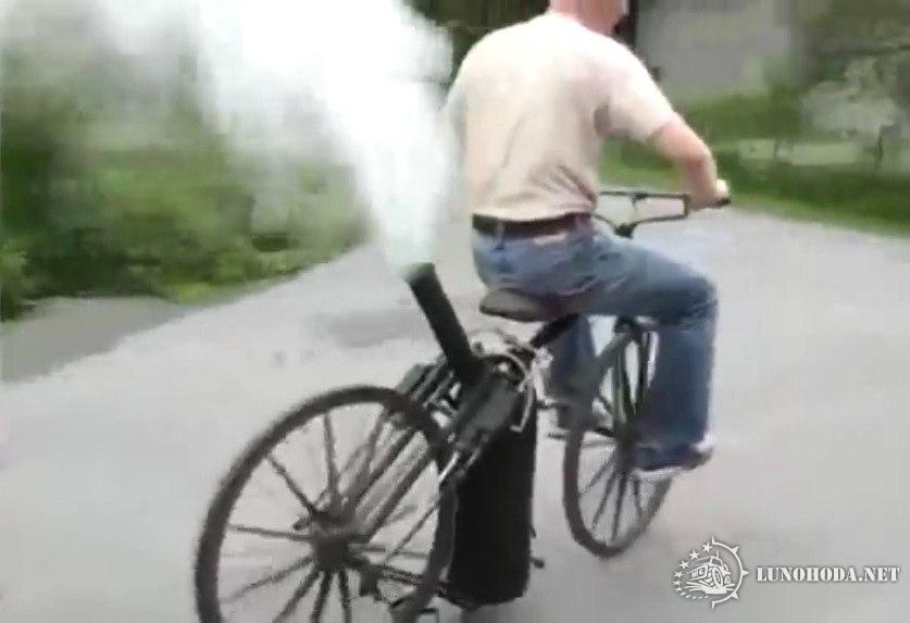Велосипед с паровым двигателем своими руками