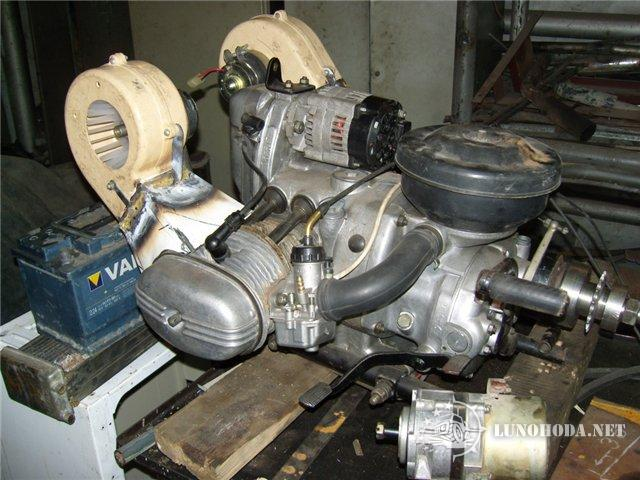 Как сделать двигатель на днепре 121