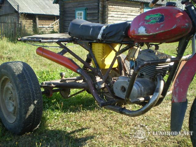 Как сделать самодельный мотоцикла