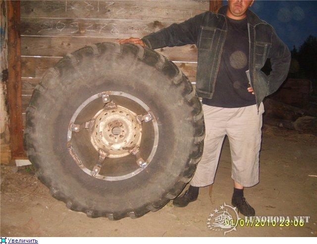 Диски для колес низкого давления своими руками