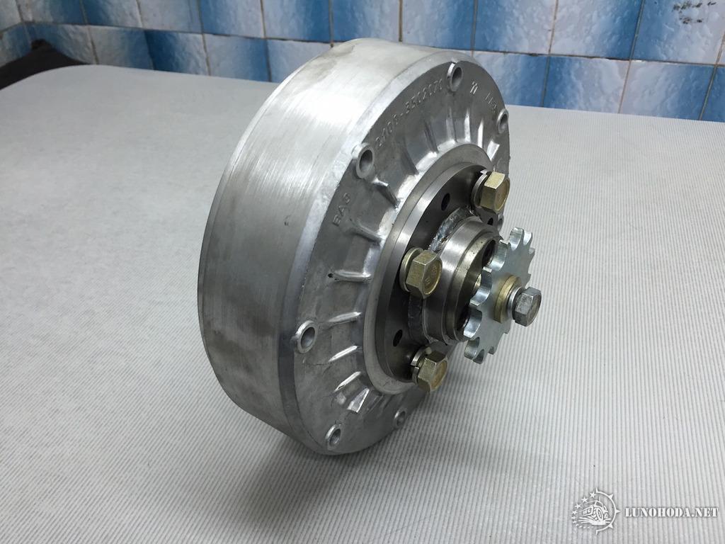 Самодельная муфта на двигатель