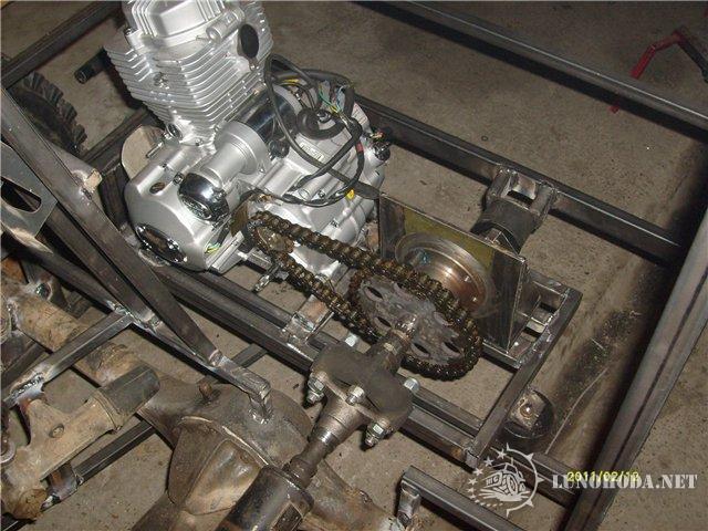 Каракат своими руками с двигателем
