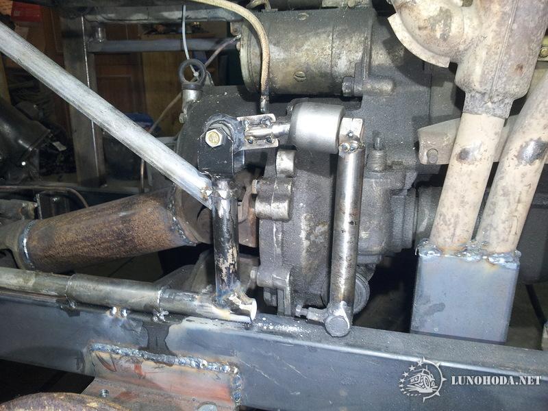 Как сделать тормоза на самодельном тракторе