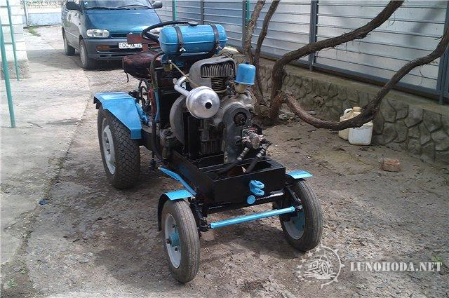 Трактора мотором своими руками