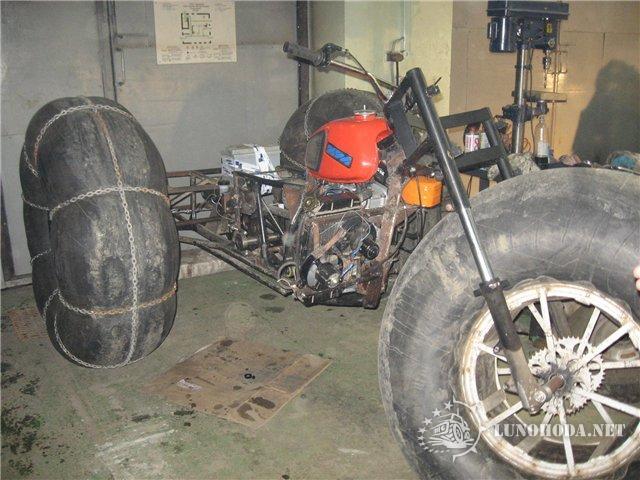 Как сделать переднюю вилку мотоцикла 179