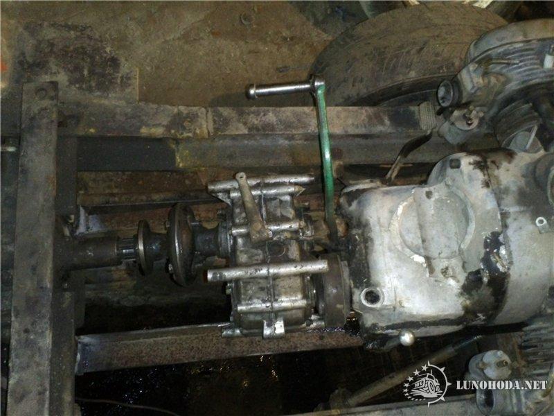 Трактор своими руками из двигателя от мотоблока