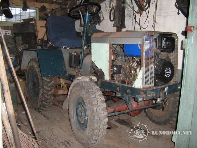 Как сделать самодельный трактор из уаза