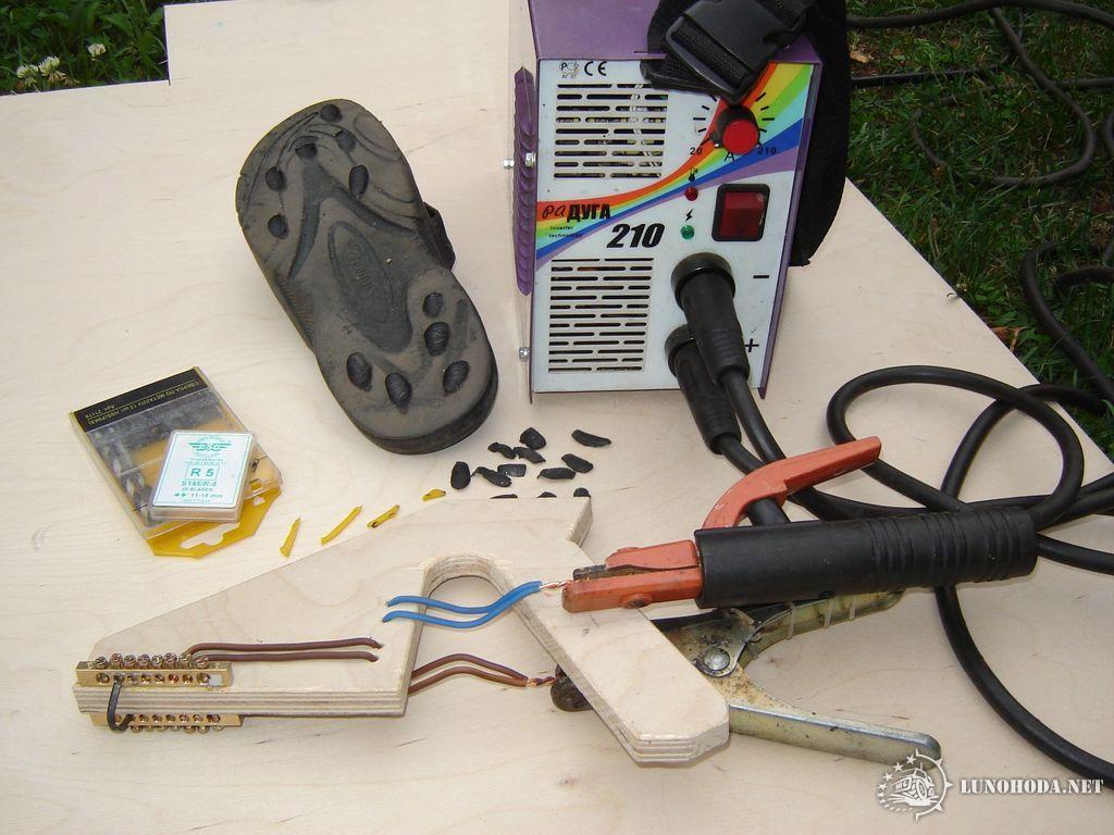 Приспособление для нарезки протектора шин своими руками