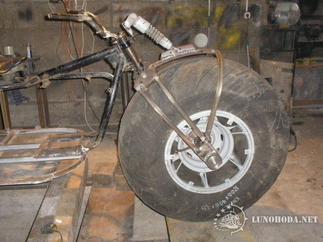 Как сделать вилку для трицикла